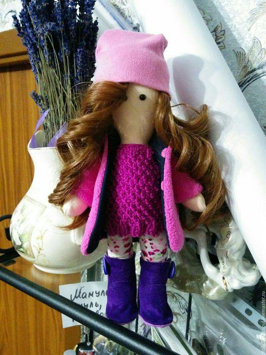 Куклы тыквоголовки ручной работы. Ярмарка Мастеров - ручная работа. Купить Кукла текстильная Марсель. Handmade. Комбинированный