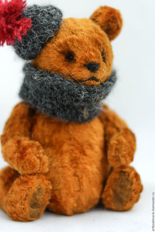 Мишки Тедди ручной работы. Ярмарка Мастеров - ручная работа. Купить Мишка который любит осень... Handmade. Тедди, коричневый