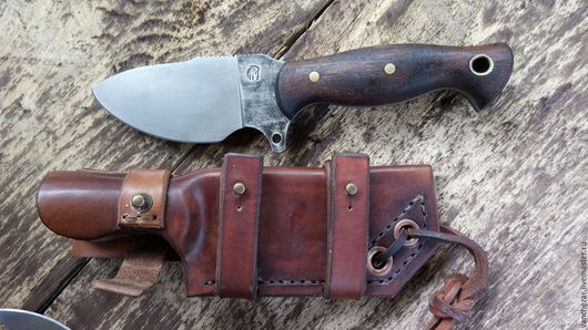 Оружие ручной работы. Ярмарка Мастеров - ручная работа. Купить нож Егерь. Handmade. Стальной, ручная работа