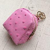 Материалы для творчества ручной работы. Ярмарка Мастеров - ручная работа Рюкзак для кукол розовый. Handmade.