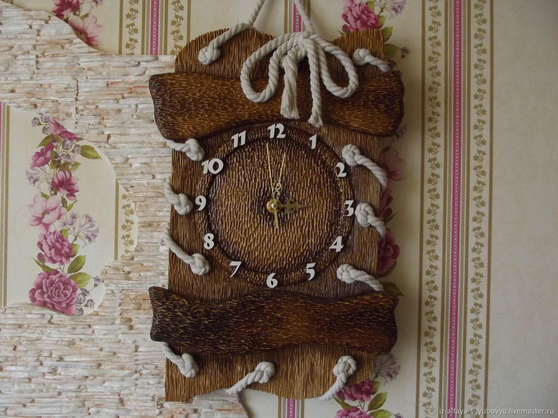 Объемные резные, Часы классические, Бийск,  Фото №1