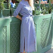 Одежда ручной работы. Ярмарка Мастеров - ручная работа Летнее платье-халат EGGDRESS CLASSIC WEEKEND. Handmade.