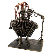 Сувениры и подарки handmade. Livemaster - original item Accordionist. Handmade.