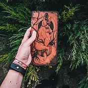 Кошельки ручной работы. Ярмарка Мастеров - ручная работа Портмоне из натуральной кожи.. Handmade.