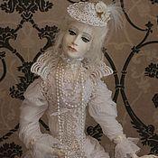 """Куклы и игрушки handmade. Livemaster - original item Кукла""""Мадам Зефир"""". Handmade."""