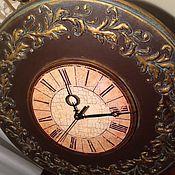Для дома и интерьера ручной работы. Ярмарка Мастеров - ручная работа Часы настенные Старинные. Handmade.