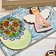 Кулинарные сувениры ручной работы. Ярмарка Мастеров - ручная работа. Купить Большие пасхальные яйца и весенние ангелы. 2 пряника. Handmade.