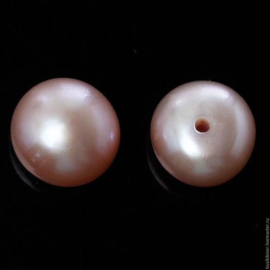 Для украшений ручной работы. Ярмарка Мастеров - ручная работа. Купить Бусины из натурального кремового жемчуга 7.5мм - 7мм. Handmade.