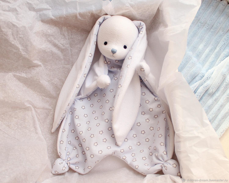Игрушка для сна Комфортер, Подарок новорожденному, Клин,  Фото №1