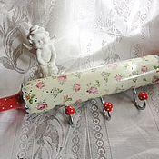 Для дома и интерьера handmade. Livemaster - original item Hanger-rolling pin Roses, shabby, decoupage. Handmade.