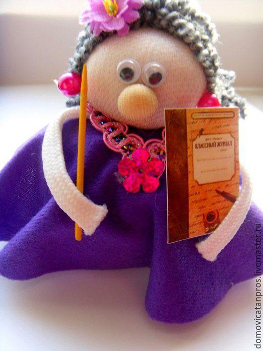 Коллекционные куклы ручной работы. Ярмарка Мастеров - ручная работа. Купить Подарок Любимой учительнице.. Handmade. Комбинированный, сувениры и подарки