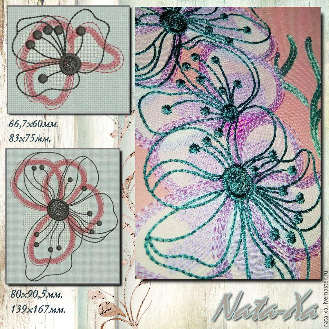 Дизайны машинной вышивки 24