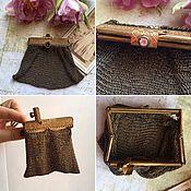 Винтаж ручной работы. Ярмарка Мастеров - ручная работа Старинный французский кошелёк. Handmade.