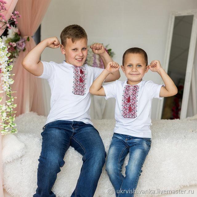 """Детская футболка для мальчика с вышивкой """"9027"""", Футболки и топы, Львов,  Фото №1"""