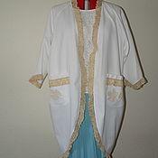Одежда ручной работы. Ярмарка Мастеров - ручная работа Пальто летнее-пыльник в стиле бохо. Handmade.