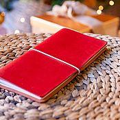 Канцелярские товары handmade. Livemaster - original item `Flamenco ` Notebook for confident girl (21x11cm). Handmade.