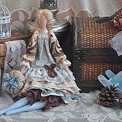"""Куклы и игрушки ручной работы. Ярмарка Мастеров - ручная работа Кукла в стиле Тильда """"Утренний кофе"""". Handmade."""