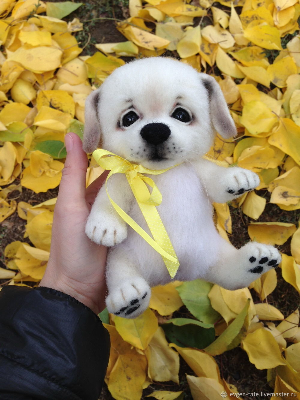 Puppy PAL dog felted wool, Felted Toy, Volgograd,  Фото №1