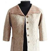 Одежда handmade. Livemaster - original item Long jacket color powder, 40-44 R.. Handmade.