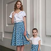 Одежда ручной работы. Ярмарка Мастеров - ручная работа Летняя юбка для девочки. Handmade.