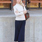 Одежда handmade. Livemaster - original item EGGDRESS CLASSIC BEIGE jumper. Handmade.