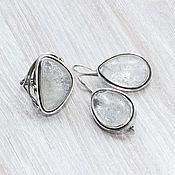 Украшения handmade. Livemaster - original item Rhinestone (earrings and ring) (1079). Handmade.