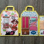 handmade. Livemaster - original item Bag-house of dolls. Handmade.