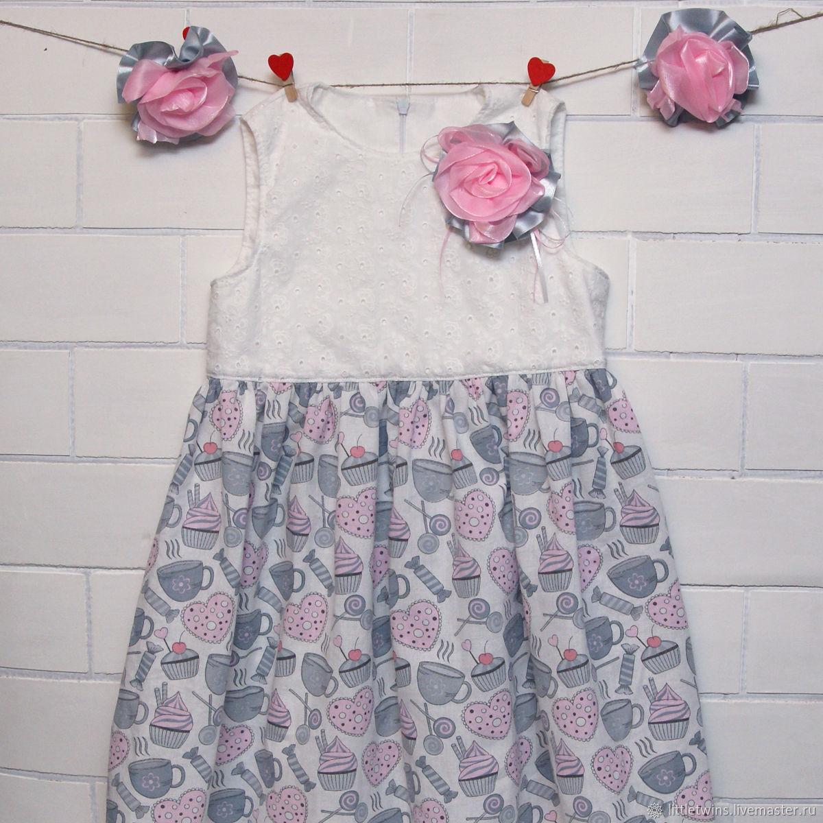 Нарядное платье для девочки и игрушка Коала