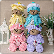 Куклы и игрушки handmade. Livemaster - original item The Sweet Bunnies. Handmade.