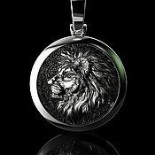 handmade. Livemaster - original item Suspension: lion. Handmade.