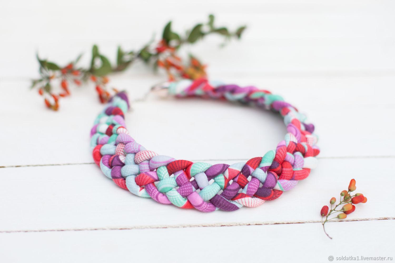 collar ' el Arrebatamiento', Necklace, Serpukhov,  Фото №1