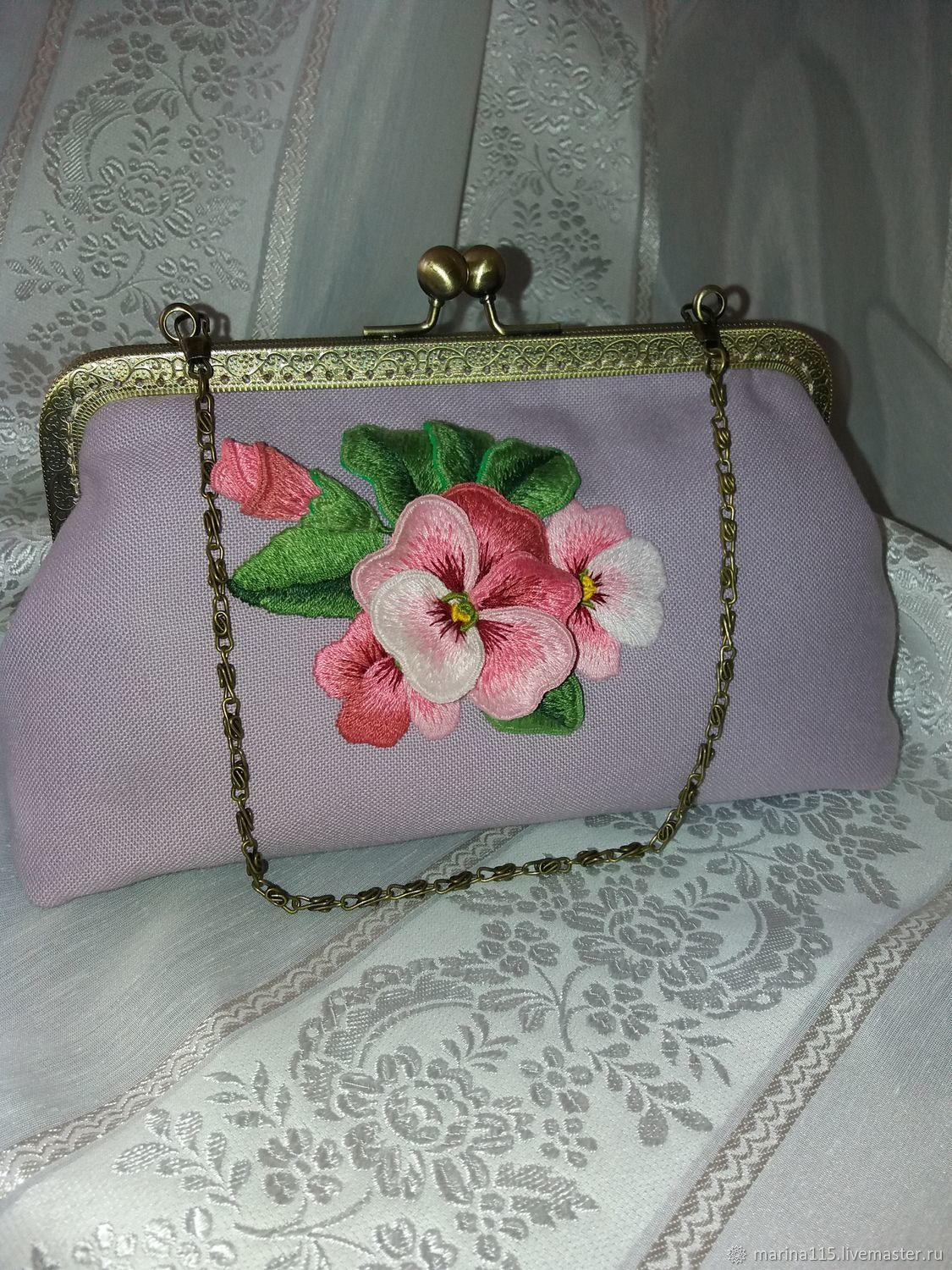 Handbag Anyuta Hand Embroidery Shop Online On Livemaster With