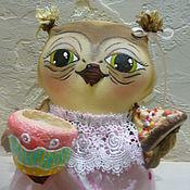 """Куклы и игрушки ручной работы. Ярмарка Мастеров - ручная работа Интерьерная игрушка """"Ох,чайку бы сейчас"""". Handmade."""