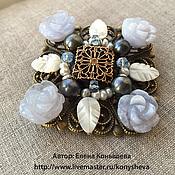 Украшения handmade. Livemaster - original item Brooch Marie Antoinette. Handmade.