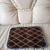 Одежда ручной работы. Ярмарка Мастеров - ручная работа Сидушка для бани и сауны из натуральной овечьей шерсти (войлок). Handmade.