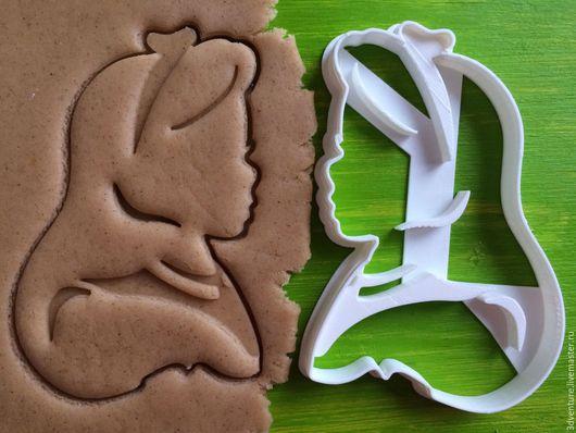 Кухня ручной работы. Ярмарка Мастеров - ручная работа. Купить Форма для печенья Алиса. Handmade. Разноцветный, формочка для печенья