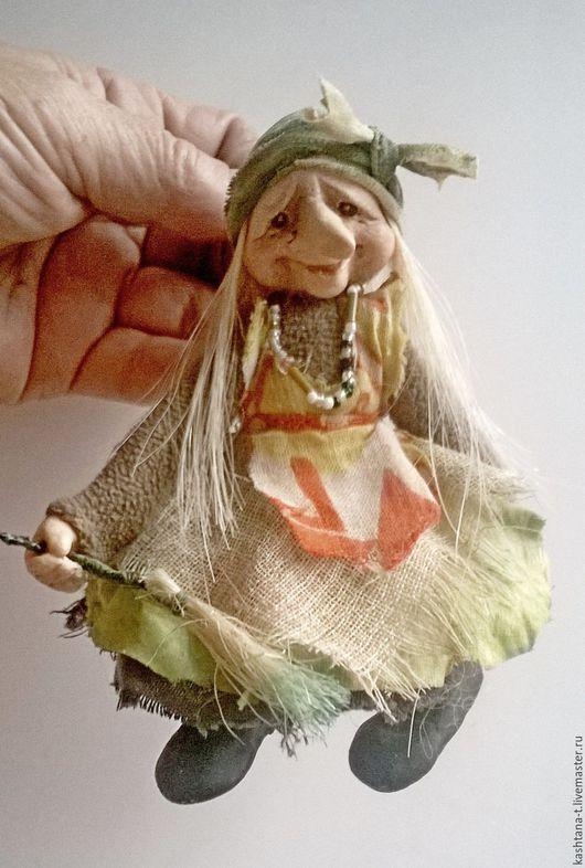 Сказочные персонажи ручной работы. Ярмарка Мастеров - ручная работа. Купить куколки Ягушки-подруЖки (ПОДВЕСОЧКИ). Handmade. Комбинированный, ЛивингДолл