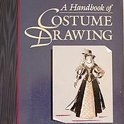 Материалы для творчества ручной работы. Ярмарка Мастеров - ручная работа Книга Handbook of Costume Drawing.. Handmade.