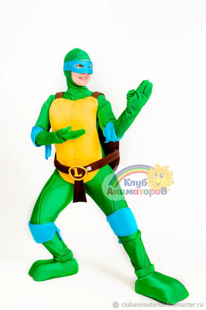Costume for animator Leonardo the Ninja Turtle