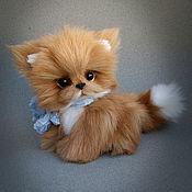 Куклы и игрушки handmade. Livemaster - original item Kitty Caramel. Handmade.