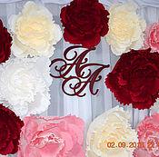 Свадебный салон ручной работы. Ярмарка Мастеров - ручная работа Большие цветы из бумаги. Декор зала, свадеб, фотосессий. Handmade.
