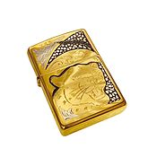 Сувениры и подарки handmade. Livemaster - original item Zippo lighter engraved with the