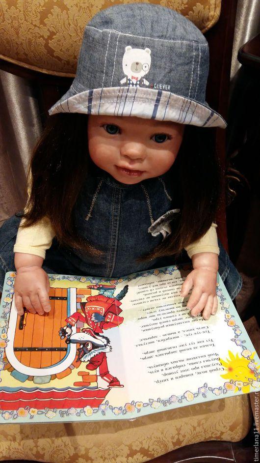 Куклы-младенцы и reborn ручной работы. Ярмарка Мастеров - ручная работа. Купить Ульяна !!!Кукла реборн из молда  Киттен. Handmade.