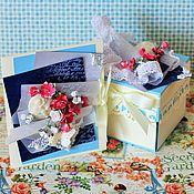 Свадебный салон ручной работы. Ярмарка Мастеров - ручная работа Открытка  коробочка для денежного подарка (на свадьбу). Handmade.