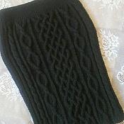 """Одежда handmade. Livemaster - original item Вязаная юбка """"Переплетения""""ручной работы. Handmade."""