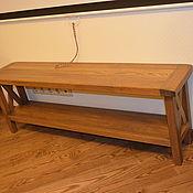 Для дома и интерьера ручной работы. Ярмарка Мастеров - ручная работа Столик дубовый. Handmade.