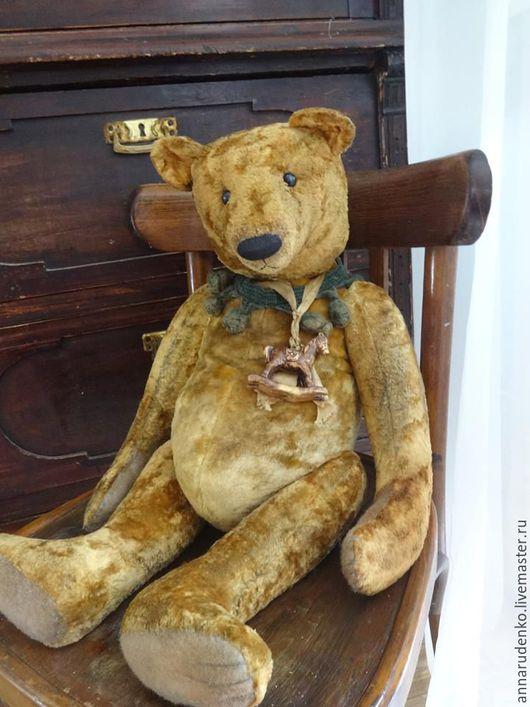 Мишки Тедди ручной работы. Ярмарка Мастеров - ручная работа. Купить BIG. Handmade. Коричневый, плюш винтажный