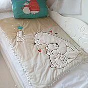 Подушка для кормления ручной работы. Ярмарка Мастеров - ручная работа Уютные и теплые одеялки для ваших малышей. Handmade.