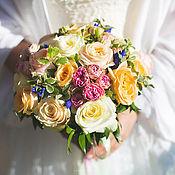 Свадебный салон ручной работы. Ярмарка Мастеров - ручная работа Бюджетное оформление свадьбы_оранжевый. Handmade.