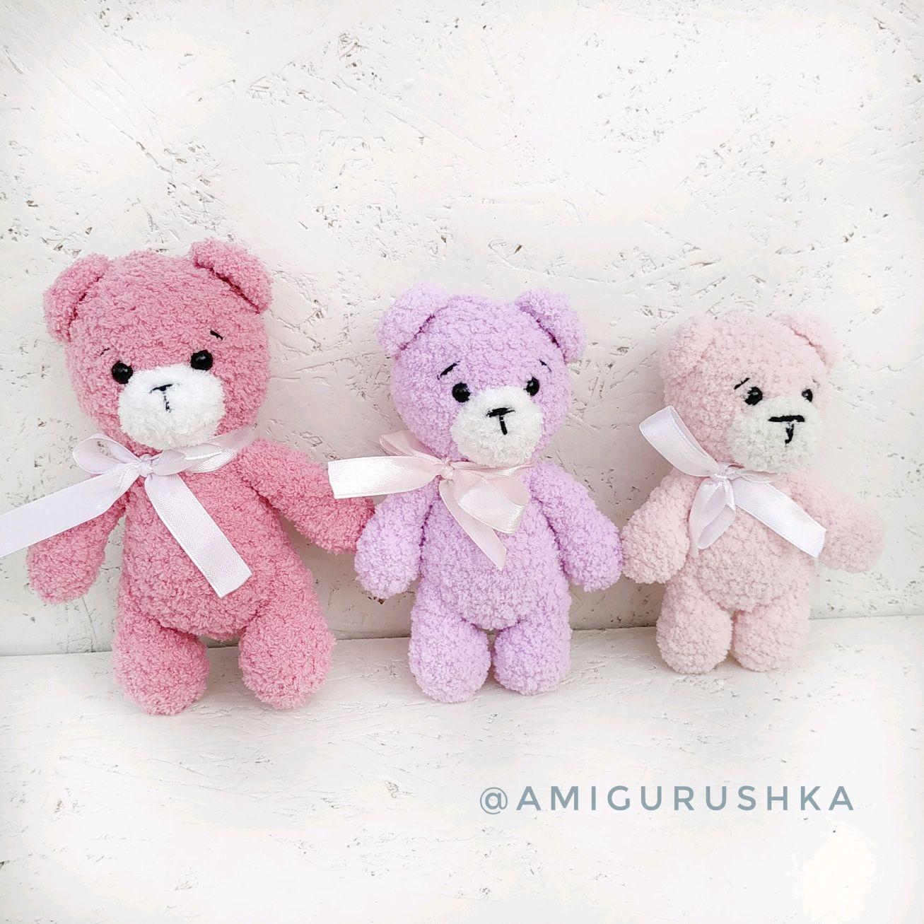 Knitted Teddy Bear handmade, Stuffed Toys, Saki,  Фото №1